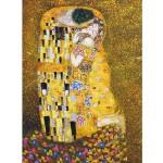 Puzzle  Dtoys-66923 Klimt Gustav - Le baiser (détail)