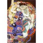 Puzzle  DToys-66923-KL05-(70135) Klimt Gustav - La vierge (détail)