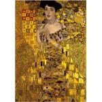 Puzzle  DToys-66923-KL06-(70128) Klimt Gustav - Adele Bloch-Bauer I (détail)