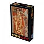 Puzzle  Dtoys-66923-KL11-(74553) Gustave Klimt - Hygieia, 1900