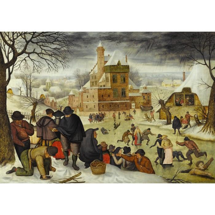 Brueghel Pieter le jeune - Hiver