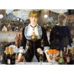 Puzzle  DToys-66961-IM01 Manet Edouard - Un bar aux Folies Bergères