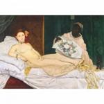 Puzzle  DToys-66961-IM08 Manet Edouard - Olympia