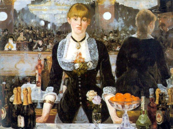 Puzzle Dtoys-66961 Manet Edouard - Un bar aux Folies Bergères
