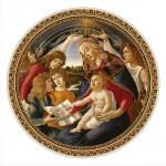 Puzzle  DToys-66985-TM02-(69788) Botticelli Sandro : Madonna del Magnifica