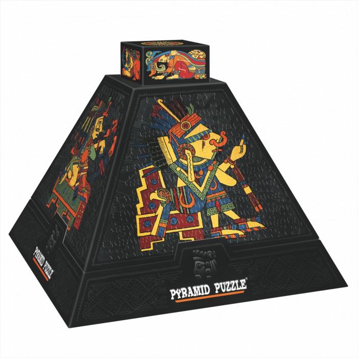 Pyramide 3D - Art précolombien / Puzzle difficile
