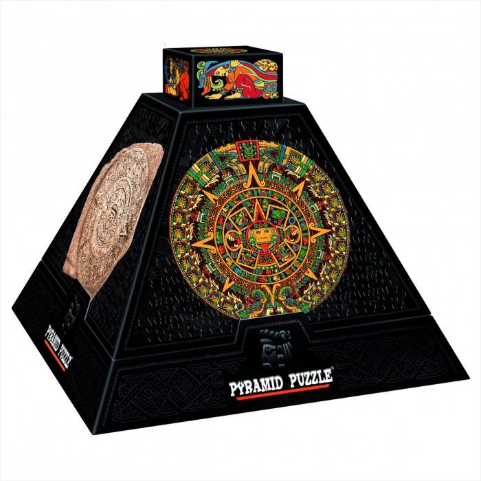 Pyramide 3D - Art précolombien : Rosaces aztèques  / Puzzle difficile