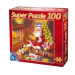 Puzzle  Dtoys-67333-XM-04 Le Père Noël est un musicien !
