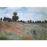 Puzzle  DToys-67548-CM01 Monet Claude - Les coquelicots