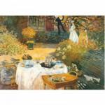Puzzle  DToys-67548-CM02-(69689) Monet Claude - Le déjeuner