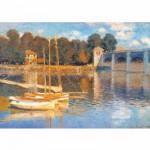 Puzzle  DToys-67548-CM03-(69672) Monet Claude - Le pont d'Argenteuil