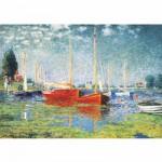 Puzzle  DToys-67548-CM04-(69665) Monet Claude - Argenteuil