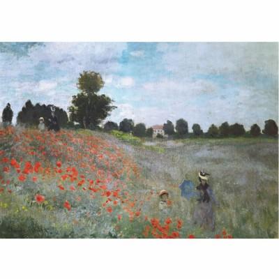 Puzzle Dtoys-67548 Monet Claude - Les coquelicots