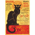 Puzzle  DToys-67555-VP09-(69566) Poster vintage - Collection du Chat Noir