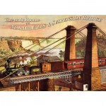 Puzzle  Dtoys-67555-VP19-(74966) The only Route via Niagara Falls & Suspension Bridge