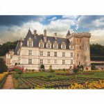 Puzzle  DToys-67562-FC04 Château de France - Château de Villandry