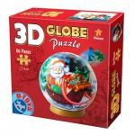 Dtoys-67609-GP-02 Puzzle Globe - Le Père Noël dans son traineau