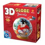 Dtoys-67609-GP-03 Puzzle Globe - L'Ours de Noël
