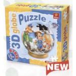 Dtoys-67814-GP-01 Puzzle Globe - Pinocchio