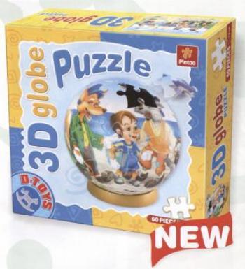Dtoys-67814 Puzzle Globe - Pinocchio