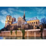 Puzzle  DToys-69337 France - Paris : Cathédrale Notre-Dame de Paris