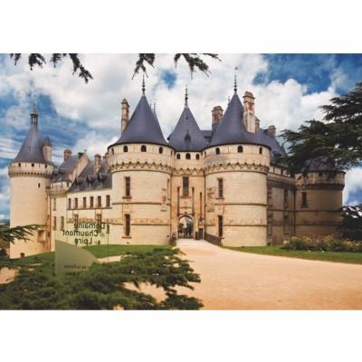 Puzzle DToys-69542 Châteaux de France - Château de Chaumont