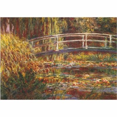 Puzzle DToys-69658 Monet Claude - Le pont japonais