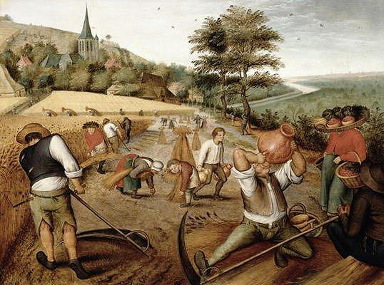 Puzzle DToys-70029 Brueghel Pieter le jeune - Eté