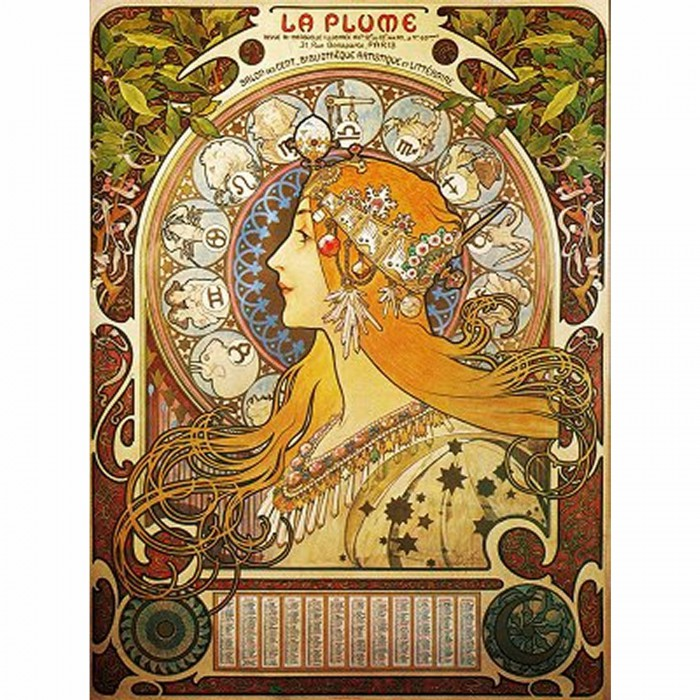 Mucha Alphonse - Zodiaque