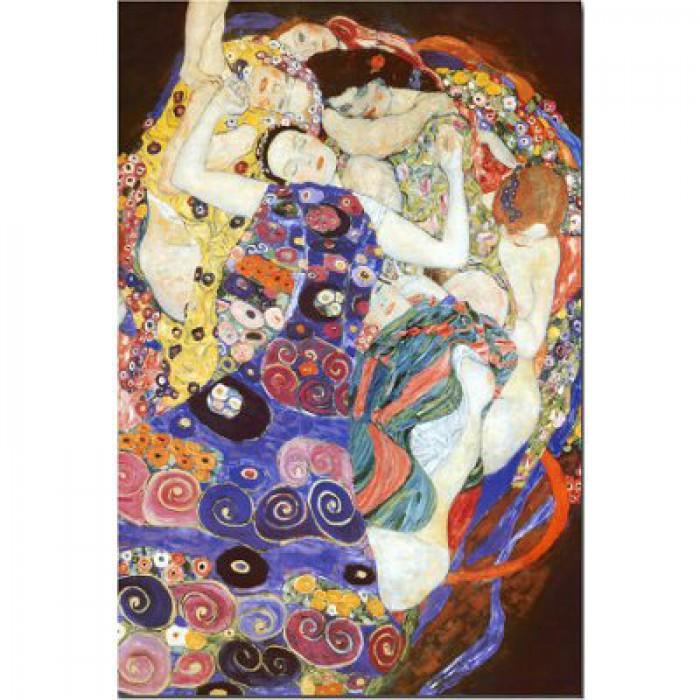 Klimt Gustav - La vierge (détail)