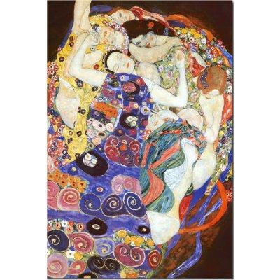 Puzzle DToys-70135 Klimt Gustav - La vierge (détail)