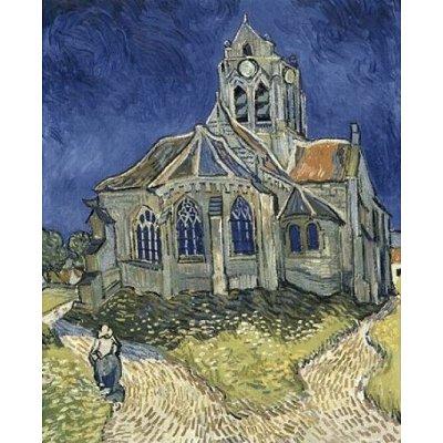 Puzzle DToys-70173 Van Gogh Vincent - L'Église d'Auvers-sur-Oise