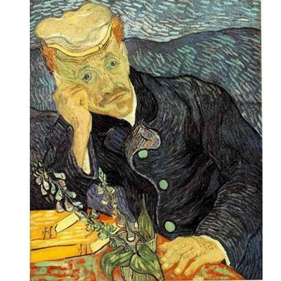 Puzzle DToys-70210 Van Gogh Vincent - Portrait du docteur Gachet
