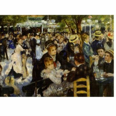 Puzzle DToys-70302 Renoir Auguste : Le bal du Moulin de la Galette