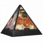 Puzzle  DToys-70425 Pyramide 3D - Egypte : Fresques égyptiennes
