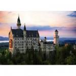Puzzle  Dtoys-70524 Paysages nocturnes - Allemagne : Château de Neuschwanstein