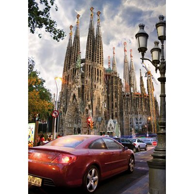 Puzzle DToys-70623 Espagne - Sagrada Familia