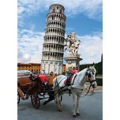 Puzzle DToys-70647 Italie - Tour de Pise