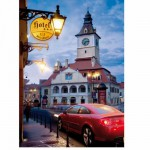 Puzzle  DToys-70661 Roumanie : Brasov - Kronstadt