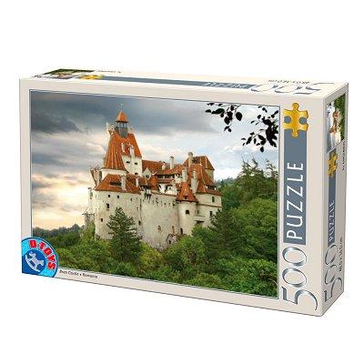 Puzzle DToys-70678 Roumanie : Château de Bran
