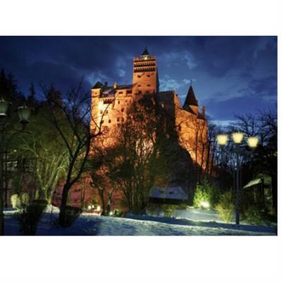 Puzzle DToys-70746 Roumanie : Château de Bran