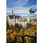 Puzzle  DToys-70784 Allemagne - Château de Neuschwanstein