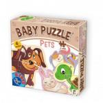 Dtoys-71255-BP-0 4 Puzzles - Bébés Animaux