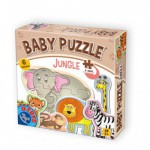 Dtoys-71286-BP01 6 Puzzles - Baby Jungle