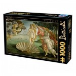 Puzzle  Dtoys-72672-BO01 Sandro Botticelli - La Naissance de Venus