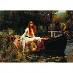 Puzzle  Dtoys-72757 Waterhouse John William : The Lady of Shalott