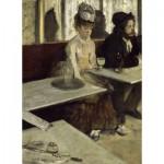 Puzzle  Dtoys-72801-DE01 Degas Edgar : Dans un Café