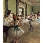 Puzzle  Dtoys-72801-DE02-(72801) Degas Edgar : La Classe de Danse