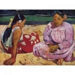 Puzzle  Dtoys-72818-GA01-(72818) Gauguin Paul : Femmes de Tahiti