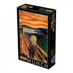 Puzzle  Dtoys-72832-MU01-(72832) Munch Edvard : Le Cri